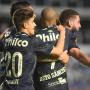 Nos acréscimos, Santos vence e sai da zona do rebaixamento